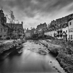 Dean Village from Water of Leith Bridge, Edinburgh