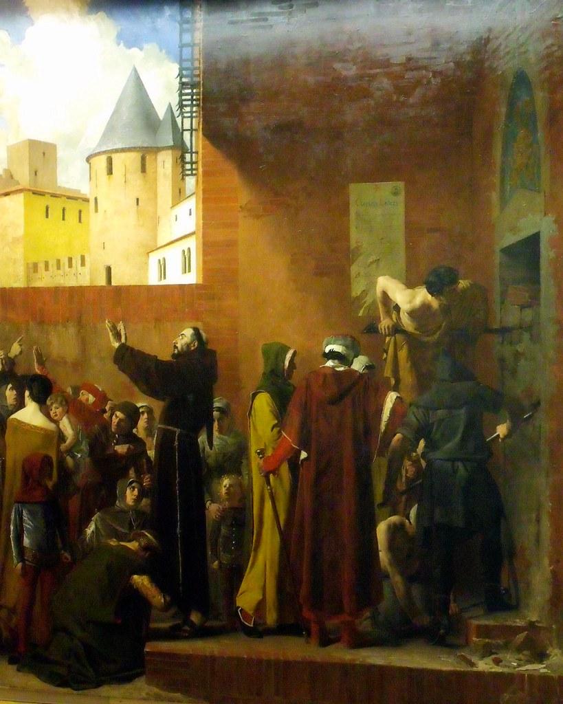 Jean-Paul Laurens, La délivrance des emmurés de Carcassonne