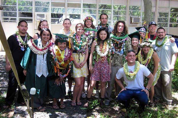 <p>UH Manoa's ‪School of Ocean and Earth Science and Technology‬ graduates celebrated at spring commencement on May 12</p>