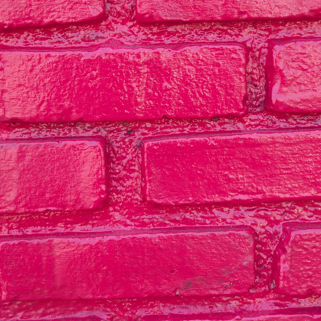 Hot Pink Brick Wall Explore Jakerome 39 S Photos On