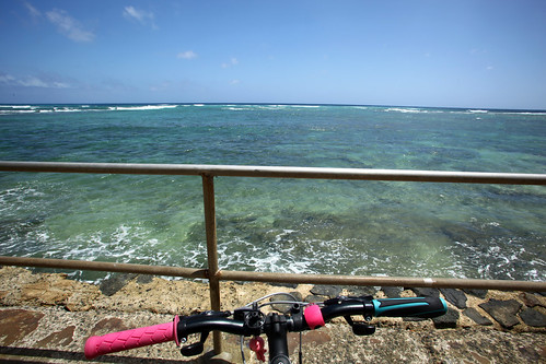 today i biked around diamond head