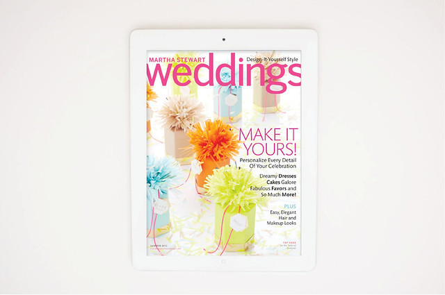 Martha Stewart Weddings iPad