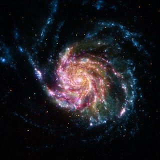 Pinwheel Galaxy (NASA, Chandra, Hubble, Spitzer, 05/24/12)