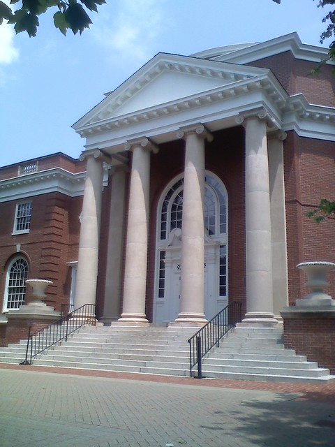 Front of Trinkle Hall