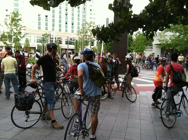 Gathering at Gallivan