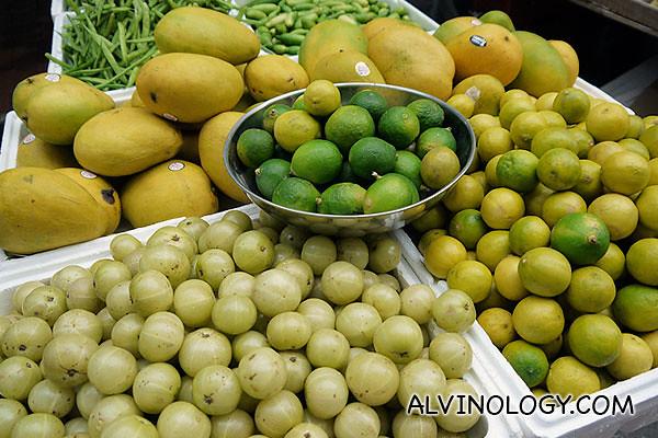 Limes and calamansi