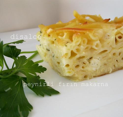 peynirli fırın makarna2