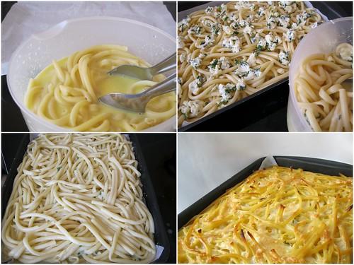 peynirli fırın makarna yapılışı