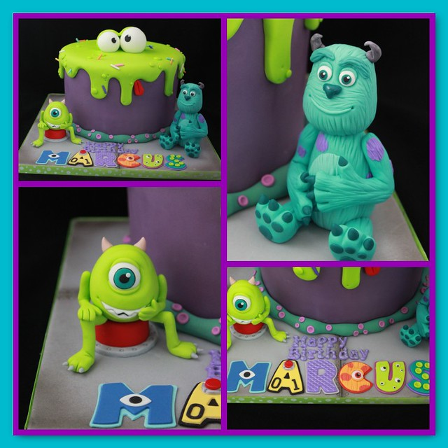 Monsters Inc cake | Flickr - Photo Sharing!