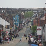 Olympic torch carried through Burslem