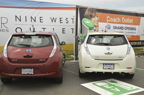 EV drivers from Canada join us at the West Coast Electric Highway Grand Opening