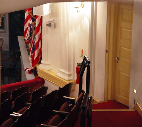 Lincoln Box and door Booth used - Fords Theatre - 2012-05-20