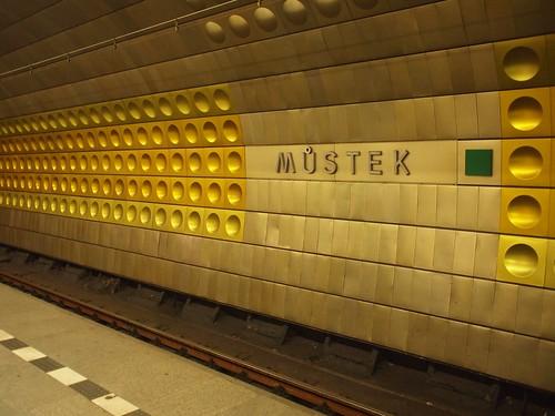 Mustek stop, Prague