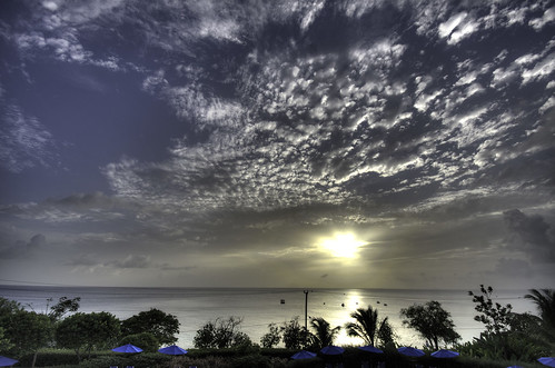 sunset barbados stjames beachviewapartments