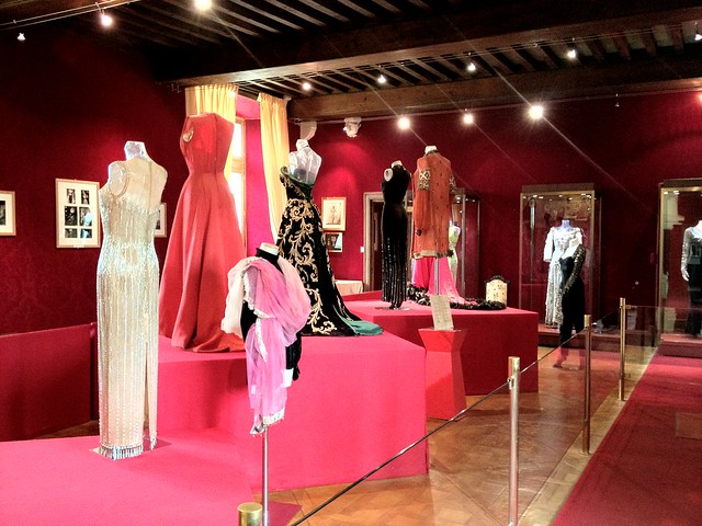 Josephine Baker's dresses at Chateau Milandes