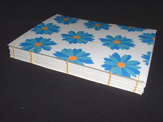 little flower coptic sketchbook 1