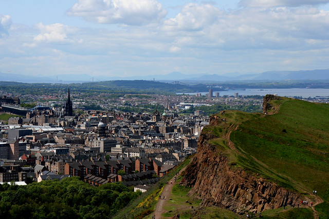 Holyrood Park (the view from)