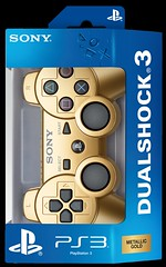 Gold DUALSHOCK3 Pack