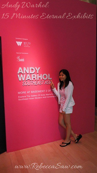 Andy Warhol 15 Minutes Eternal Exhibits - ArtScience Museum, Singapore (26)