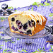 Blueberry Bread on a Stand by IrishMomLuvs2Bake