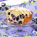 Blueberry Bread on a Stand by IrishMomLuvs2Bake