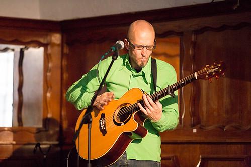 One Man Man One Guitar - mei 2012 - Folk in 't Stad