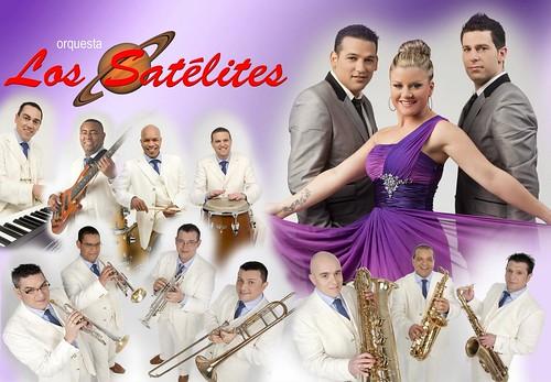 Los Satélites 2012 - orquesta - cartel