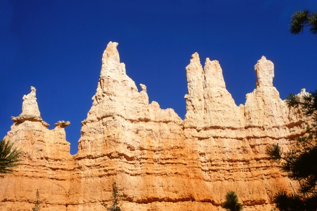 Up and down - Peaks in Bryce Canyon, Utah, USA