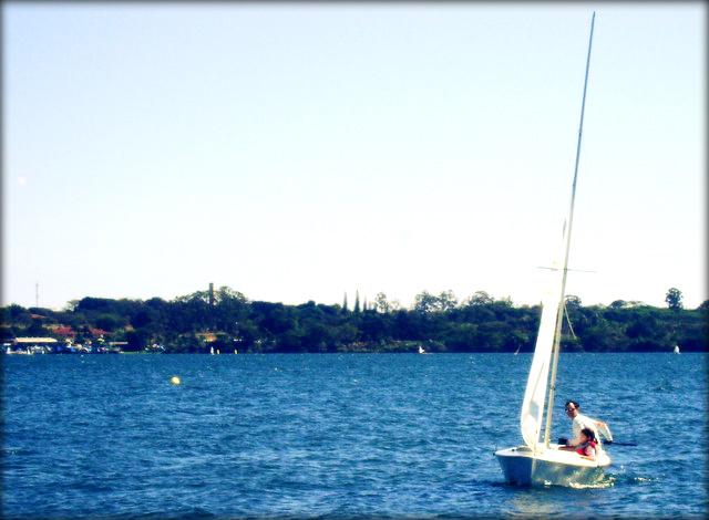 Vela no Lago Paranoá
