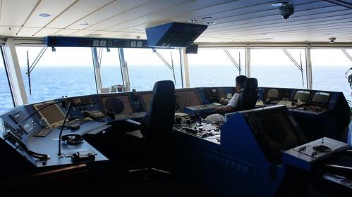 Ship's Bridge - Norwegian Jade Behind the Scenes Tour