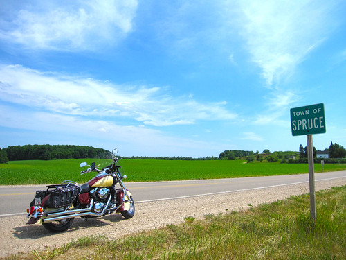 06-15-2012 Ride - Town Of Spruce,WI