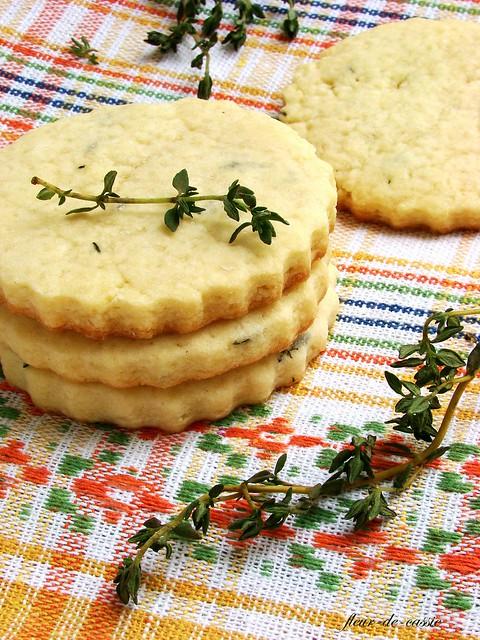 печенье песочное с тимьяном 3