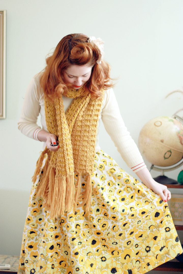 yellow flowers c