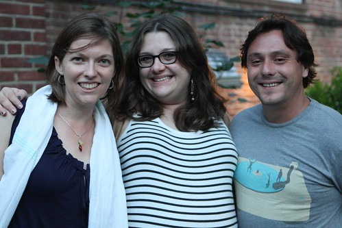 Katherine, Jen, and Sylvain