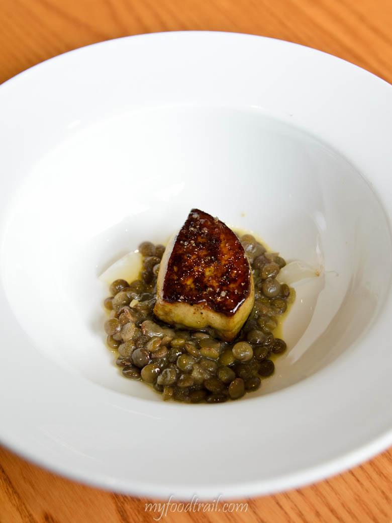 Foie gras, Saveur, Singapore