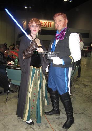 Princess Anna-kin and Hans Solo