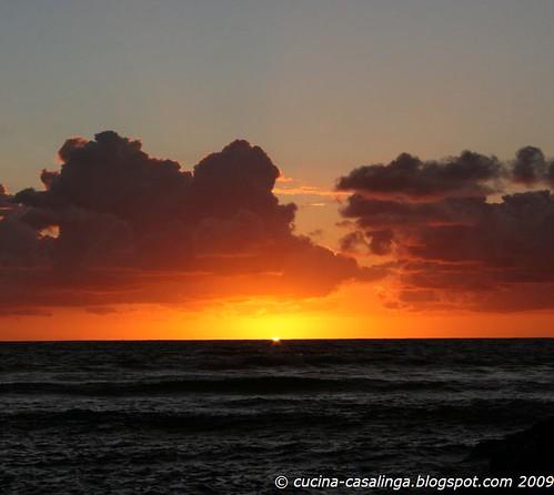 Sonnenuntergang StLeu