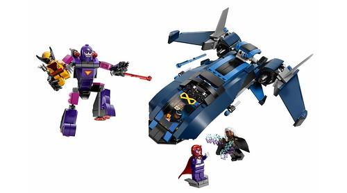 76022 X-Men vs The Sentinel