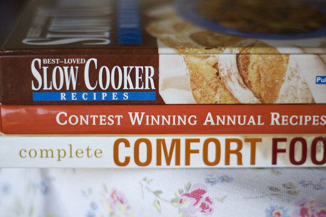 Thrift Store Cookbooks
