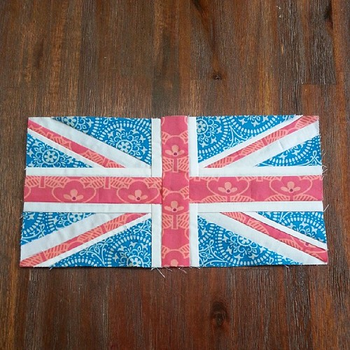 Finished! #paperpieced #unionjack