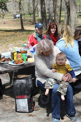 Easter 2014 - Grandma Holds Smiling Dyson