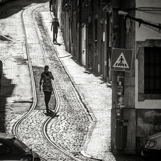 Lisbon: Pedestrians