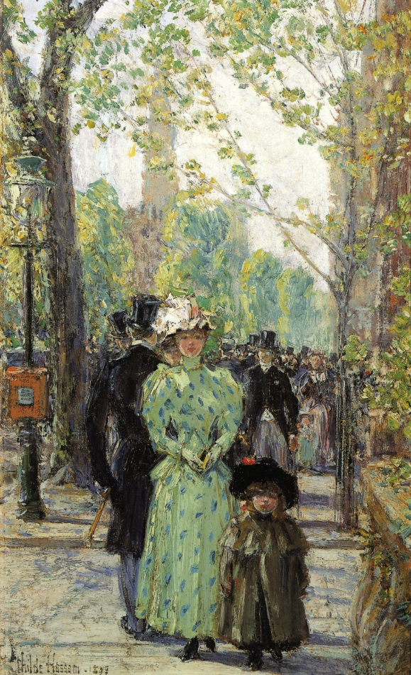 Sunday Morning by Frederick Childe Hassam - circa 1897