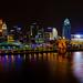 Cincinnati Night Skyline by allen ramlow