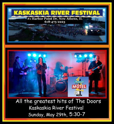 Kaskaskia River Festival Motel 5-29-16