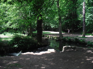 Porter Brook in Endcliffe Park