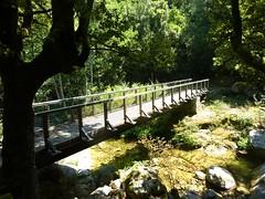 Passerelle du ruisseau de Valdarone