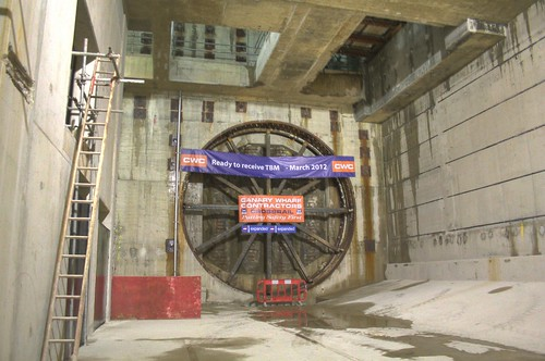 Where the first TBM will arrive in a few months time