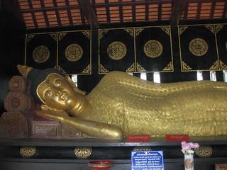 Chiang Mai Reclining Buddha