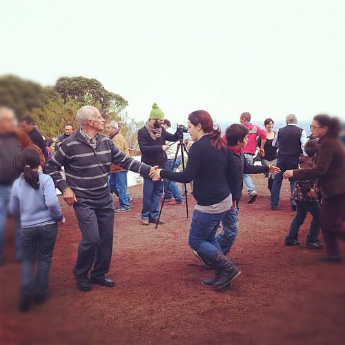 bailando chamarrita